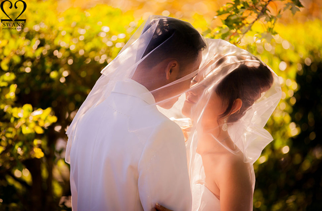 Best time for outdoor wedding photography 2swans for Wedding photographer for 2 hours