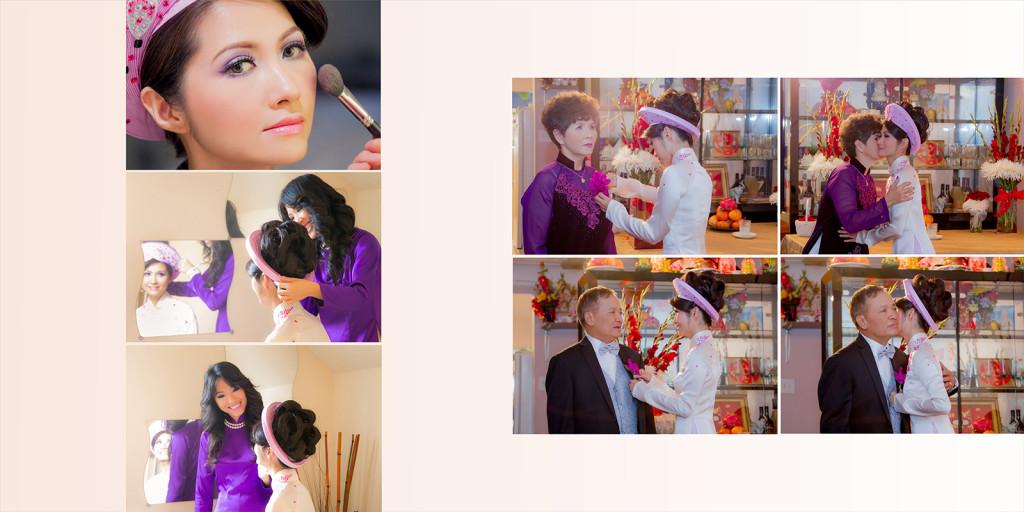 2Swans Photography - Lois Dustin wedding album