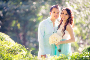 Thinh & Julie's engagement session at Cantigny Park